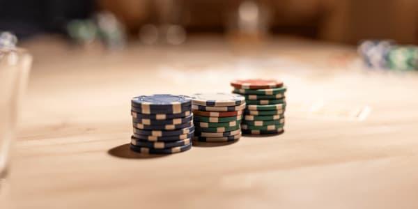 Visão geral do jogo bônus Texas Hold'Em